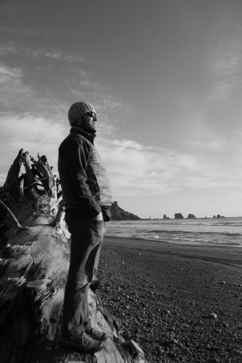 Standing up for your recreational interests and the health of the Washington Coast is Surfrider staffer Casey Dennehy.