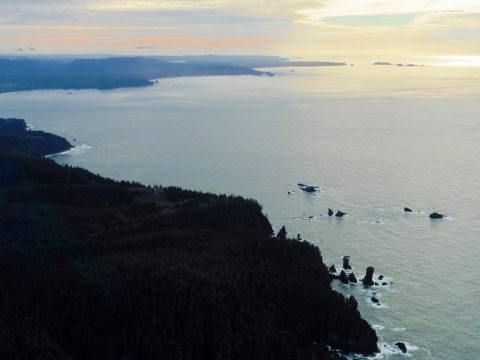 December King Tides on the Olympic Coast and Strait of Juan De Fuca